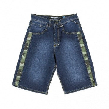 JEANS CORTO SHORTS SHELTER DARK BLUE