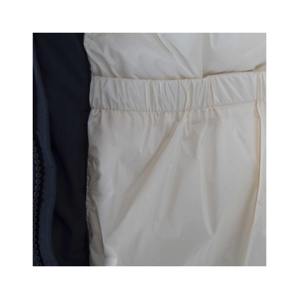 Parka Wool Patch Melton Blu 3989MELTONBL
