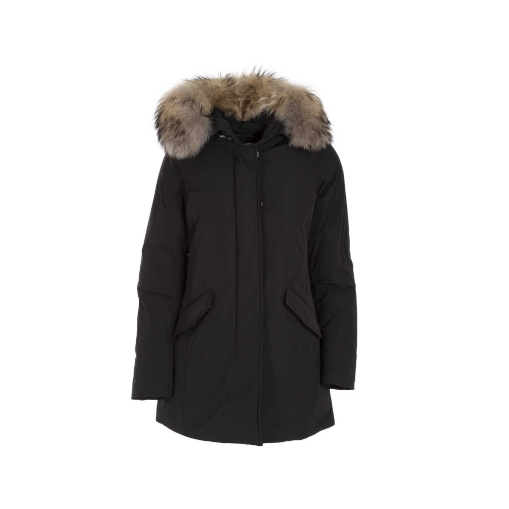 Parka WS Luxury Arctic con pelliccia 100BLACK