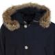 Parka Arctic Df con pelliccia MLBMELTONBLU
