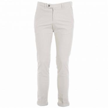 Pantalone a coste in misto cotone 03