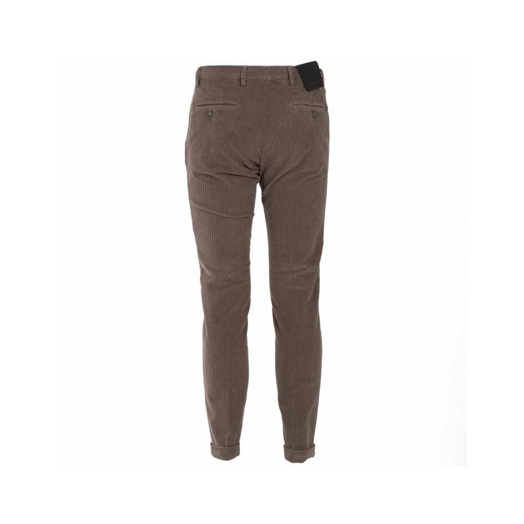 Pantalone a coste in misto cotone 83