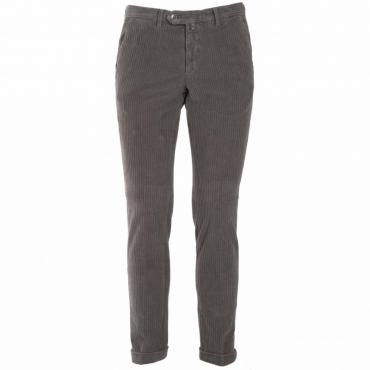 Pantalone a coste in misto cotone 43