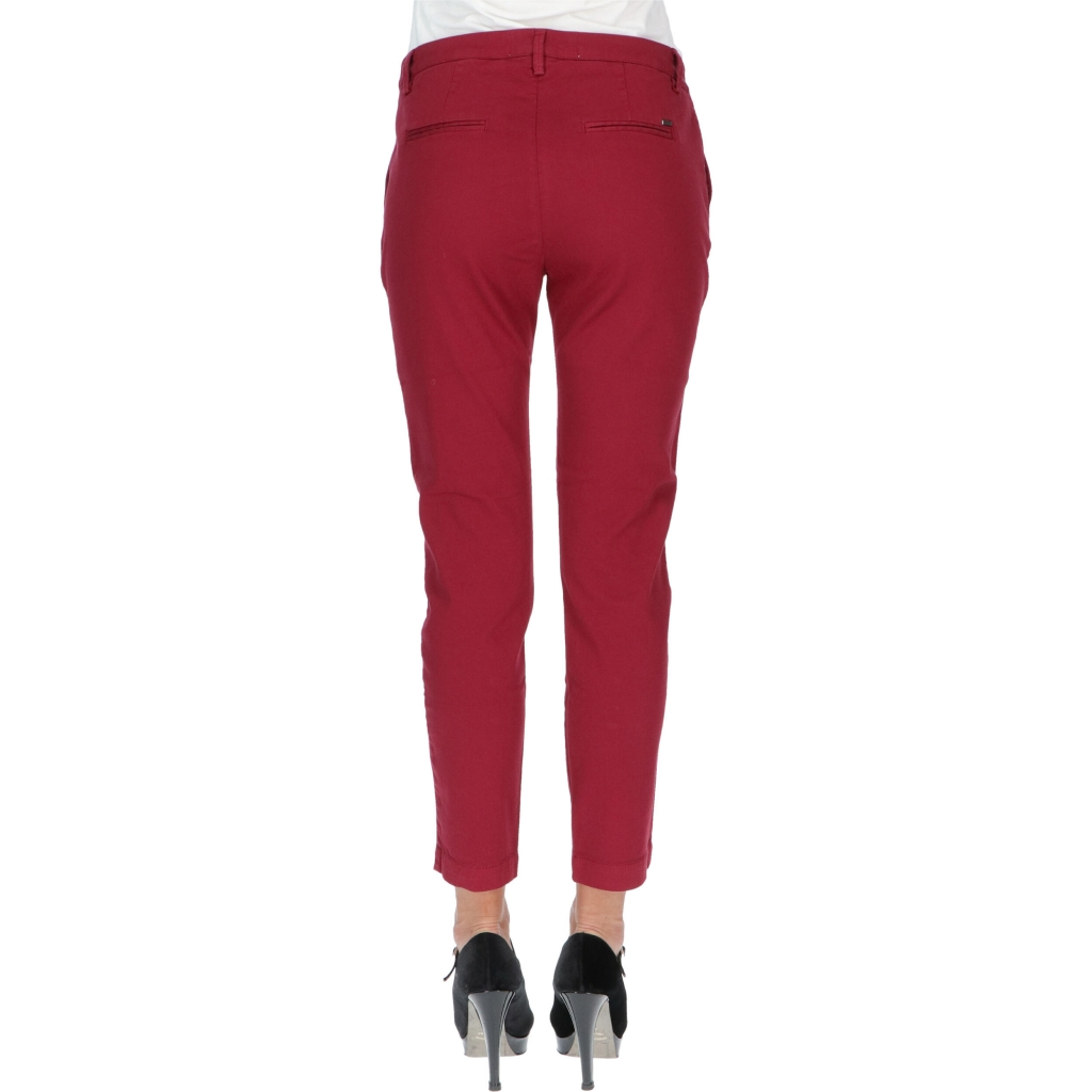PANT ISABEL FRANCE CHINO W REIGN BORDEAUX