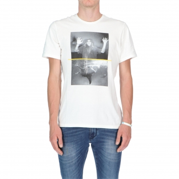 T-SHIRT SHARK FLETCHER SS OFF WHITE