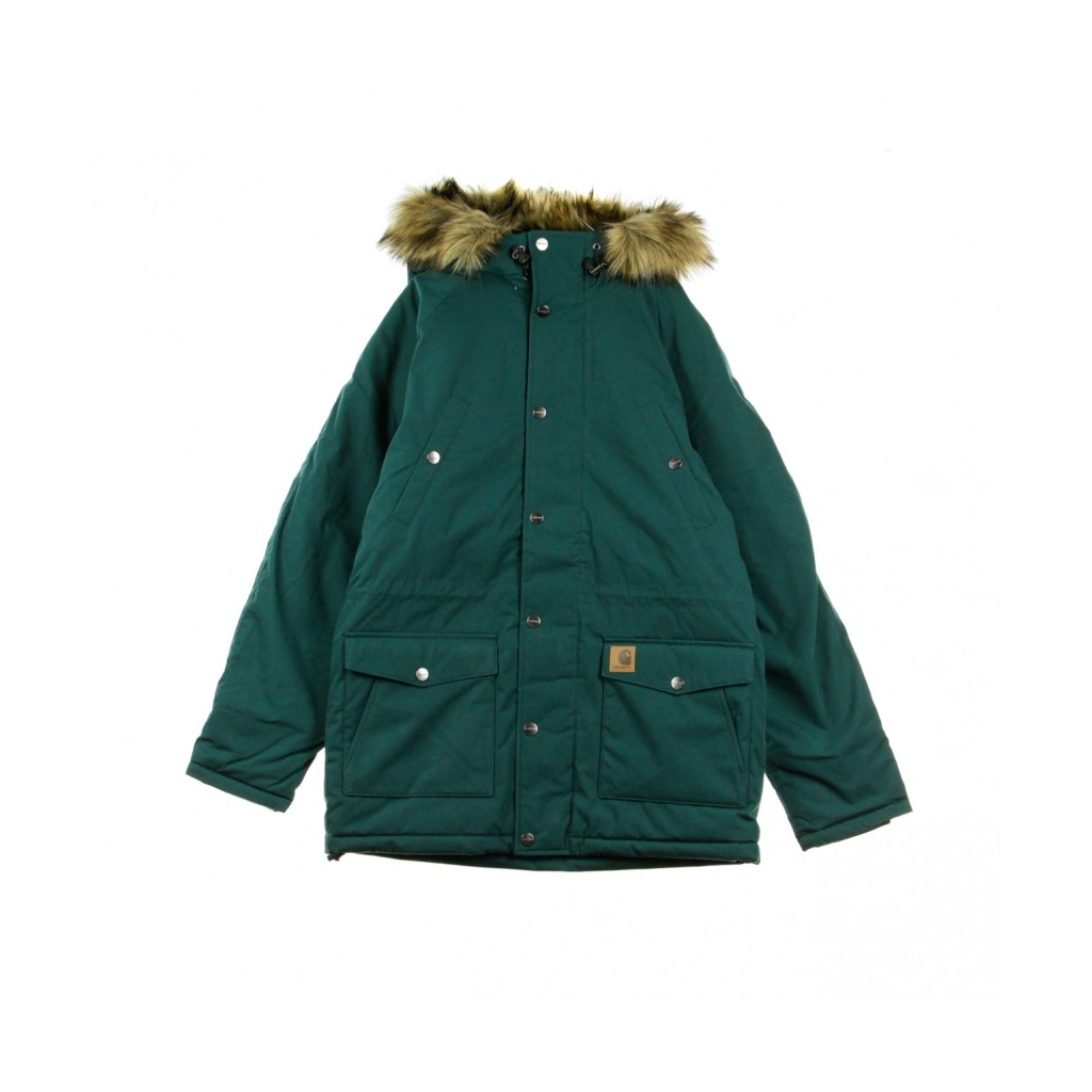 GIACCONE PARKA TRAPPER PARKA DARK FIR/BLACK