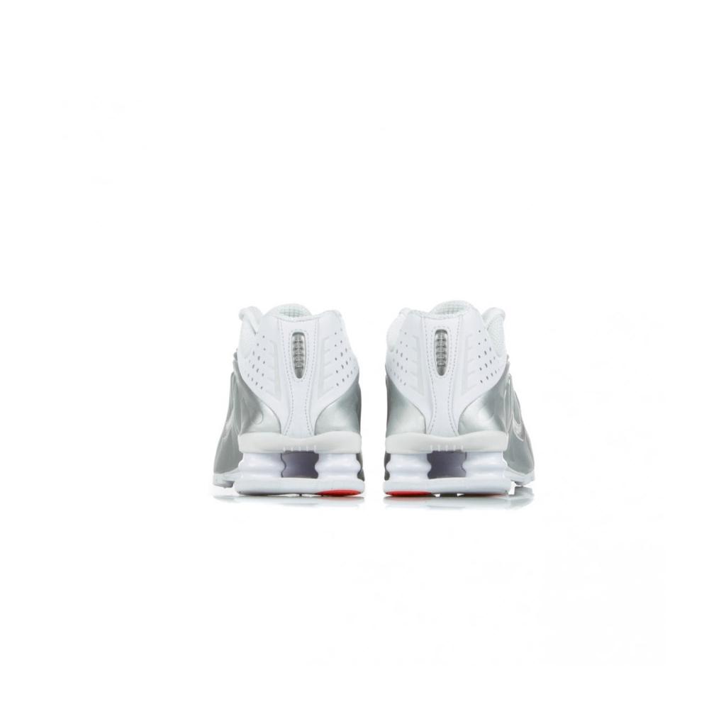 SCARPA BASSA SHOX R4 WHITE/METALLIC SILVER/METALLIC SILVER