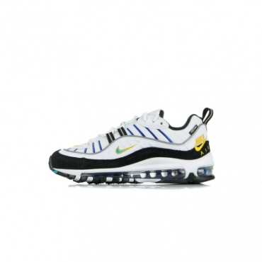 SCARPA BASSA WMNS AIR MAX 98 PREMIUM WHITE/TEAL NEBULA/UNIVERSITY GOLD/BLACK