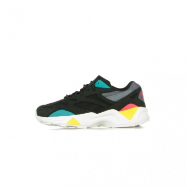 SCARPA BASSA AZTREK 96 BLACK/GREY/TEAL/CHALK/PINK