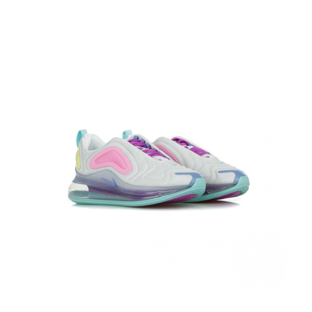 SCARPA BASSA W AIR MAX 720 WHITE/LIGHT AQUA/CHALK BLUE/PSYCHIC PINK