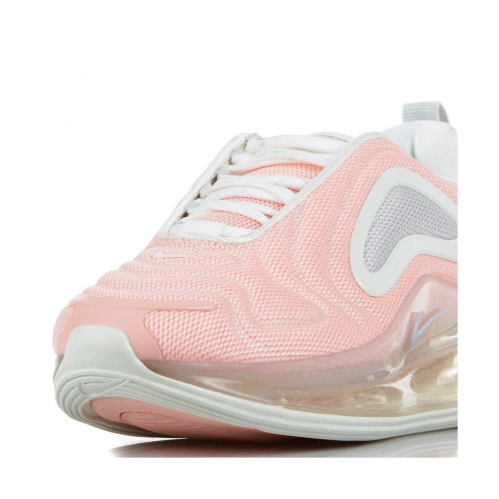 SCARPA BASSA AIR MAX 720 BLEACHED CORAL/SUMMIT WHITE