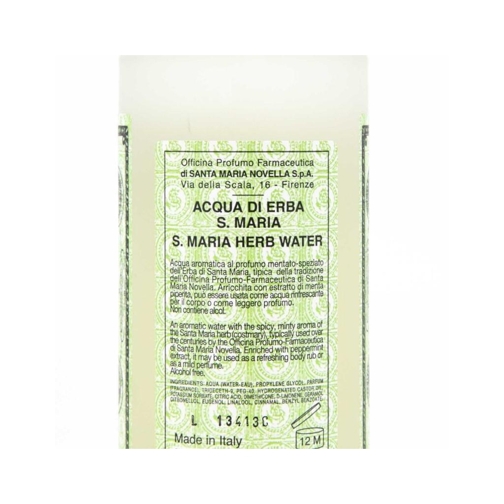 Lozione Acqua di Erba di S Maria 250ml UNICO
