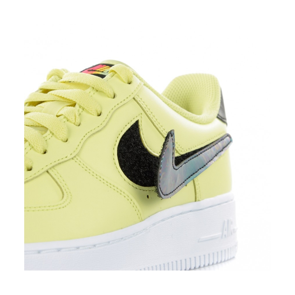 SCARPA BASSA AIR FORCE 1 07 LV8 3 YELLOW PULSEBLACKWHITEWHITE