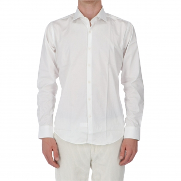 CAMICIA COLIN SLIM NO WASH BARBATI BIANCO
