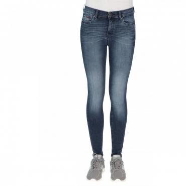 Jeans Tommy Hilfiger Donna Skinny Nora Mid Rise 1BJ EBONY