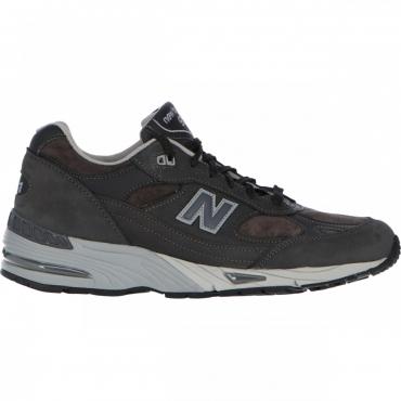 Scarpa New Balance Uomo 991 Ndg Lifestyle Nubuck NDG ANTRACITE