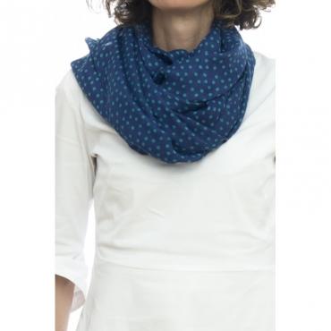 Sciarpa - 92093705     70 x 180 02 - Blu imperiale