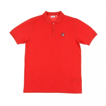 POLO MANICA CORTA EDGAR TRUE RED
