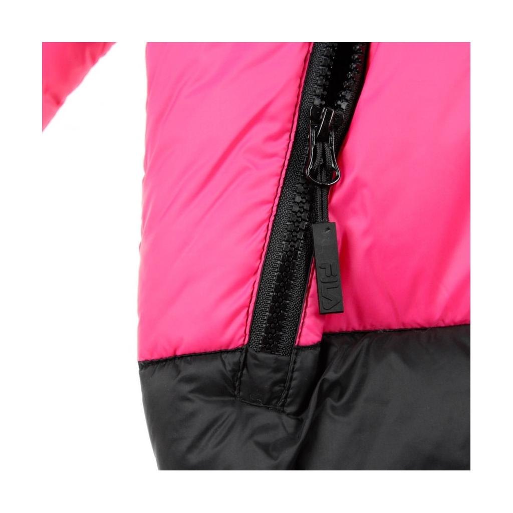 PIUMINO REILLY BLACK/TILLANDSIA PURPLE/PINK YARROW
