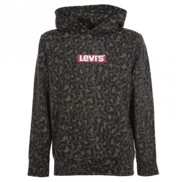 LEVI'S Felpa Levis Uomo Cappuccio Logo 0037 MID FREY Felpe |Bow