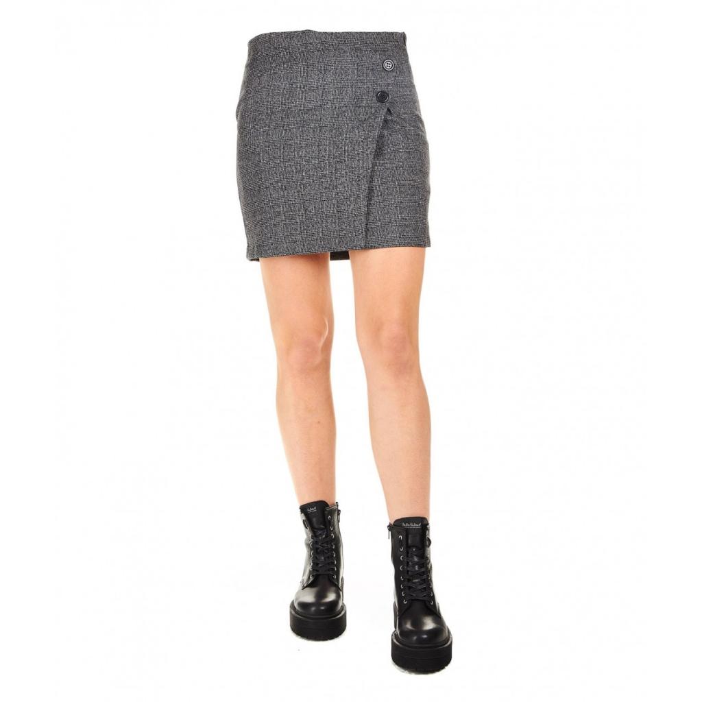prezzo di fabbrica la scelta migliore taglia 7 Kaos - Minigonna a quadretti grigio scuro - Gonne |Bowdoo.com