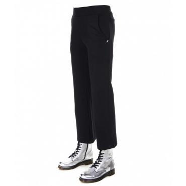 Pantalone jogging largo nero