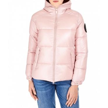 Puffer jacket Luck 9 rosa chiaro