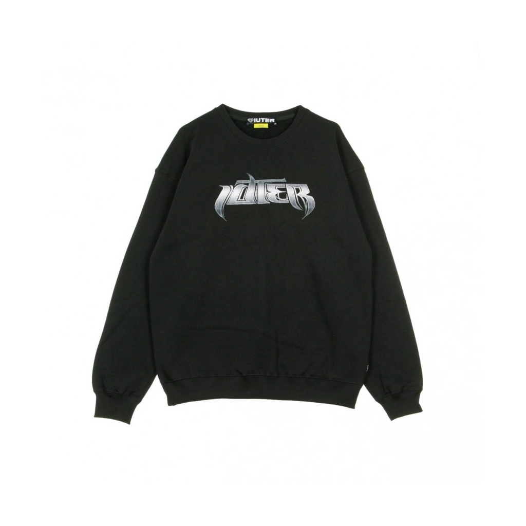 FELPA GIROCOLLO RYDERS CREW BLACK