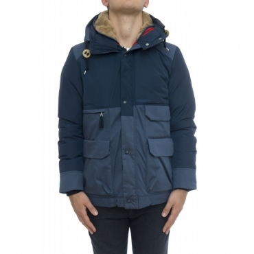 Piumino - M191 metro mountain parka bicolore DR79 - Dark royal