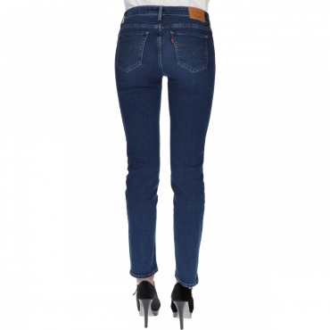 Jeans Levis Donna 712 Slim Read Between The Line L32 0148 READ BETWE