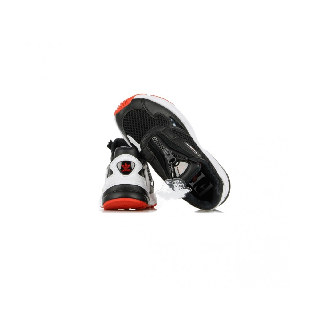 SCARPA BASSA FALCON ZIP W CORE BLACK/CLOUD WHITE/RED