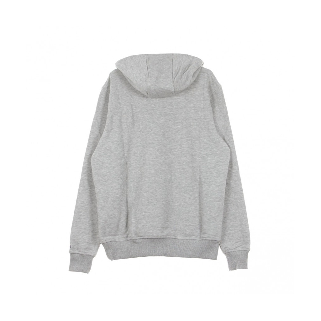 FELPA CAPPUCCIO TEAM LOGO PO HOOD CHAHOR LIGHT GREY HEATHER/ORGINAL TEAM COLORS