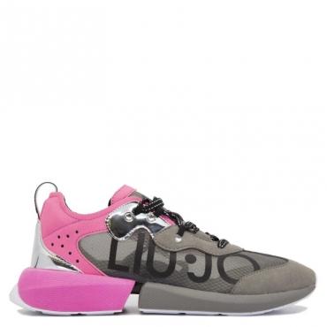 Sneakers Yulia 04 fuxia S19B4GREY/FU