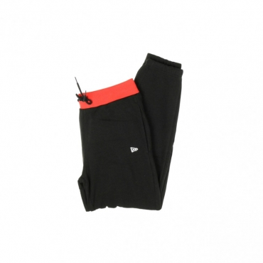 PANTALONE TUTA FELPATO NBA GRAPHIC OVELAP JOGGER CHIBUL BLACK/ORIGINAL TEAM COLORS
