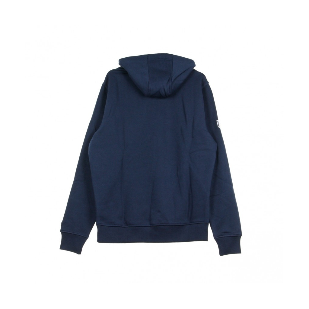 FELPA CAPPUCCIO TEAM LOGO PO HOOD SEASEA OBSIDIAN BLUE/ORIGINAL TEAM COLORS