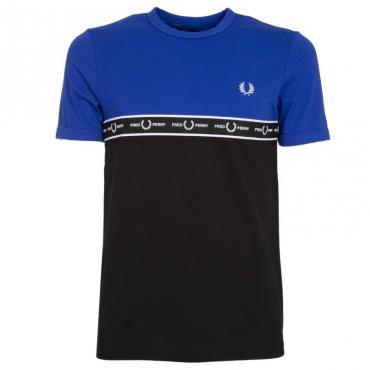 T-Shirt bicolore con logo I88BRIGHTREG