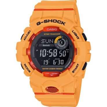 OROLOGIO G-SHOCK GBD-800-4ER ORANGE