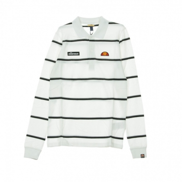 POLO MAFFIO L/S RUGBY TOP WHITE