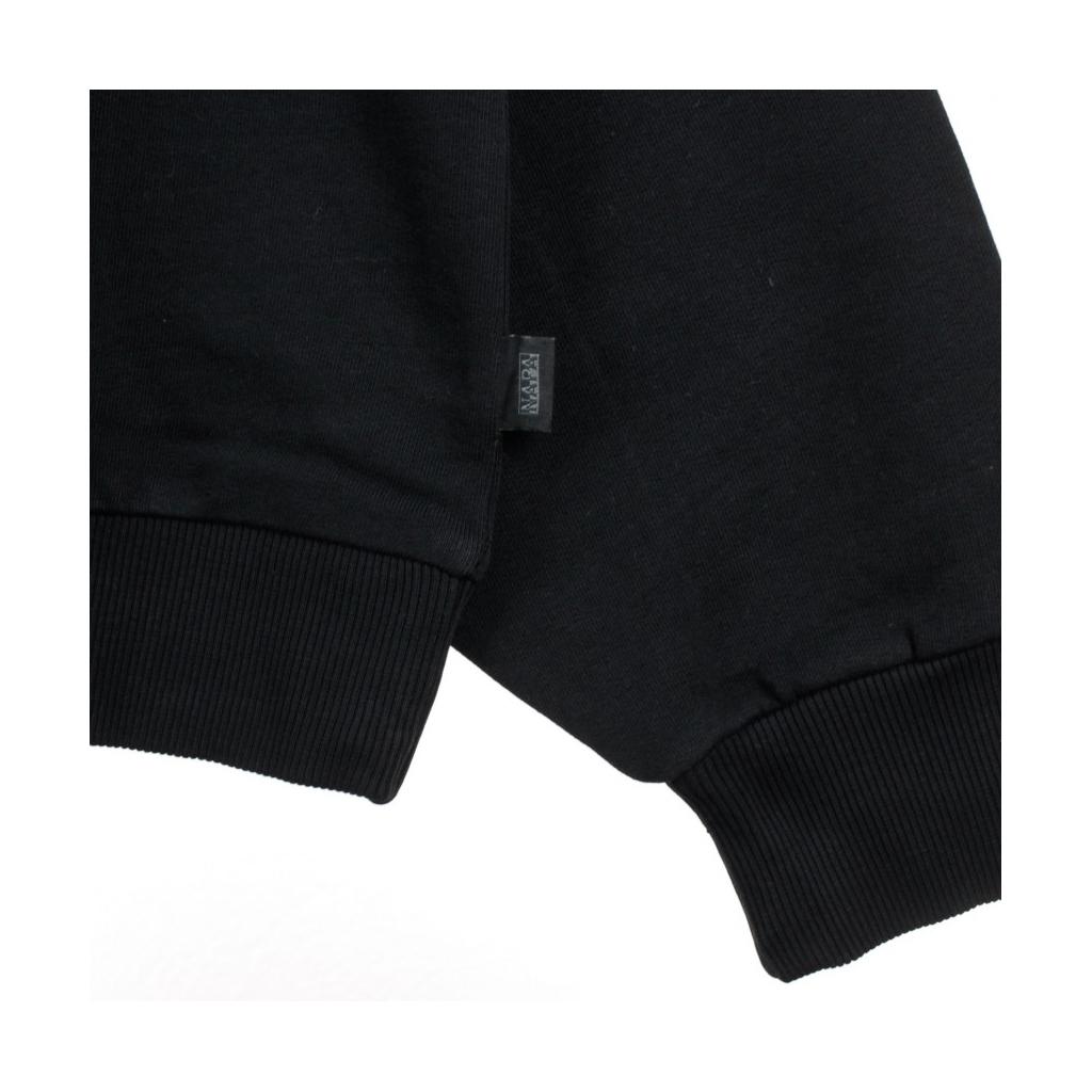FELPA GIROCOLLO B-AROSA CREW SWEAT BLACK