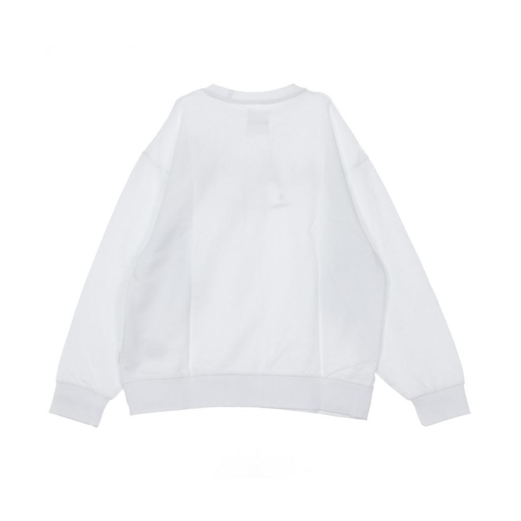FELPA GIROCOLLO B-AROSA CREW SWEAT BRIGHT WHITE