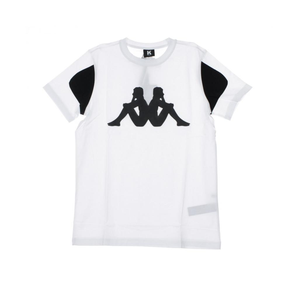 MAGLIETTA KONTROLL TEE WHITE/BLACK
