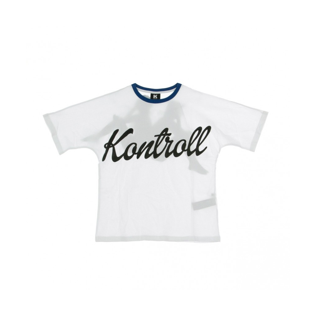 MAGLIETTA DOLLY T-SHIRT WHITE/BLUE/BLACK