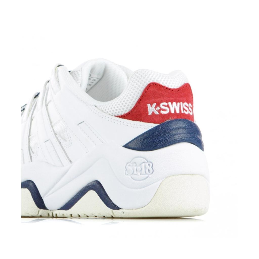 SCARPA BASSA ENDORSEMENT WHITE/WHISPERWHITE/NAVY/RED