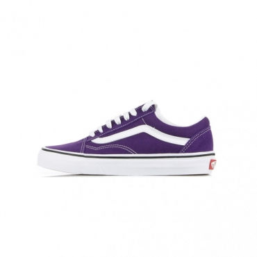 SCARPA BASSA OLD SKOOL VIOLET INDIGO/TRUE WHITE