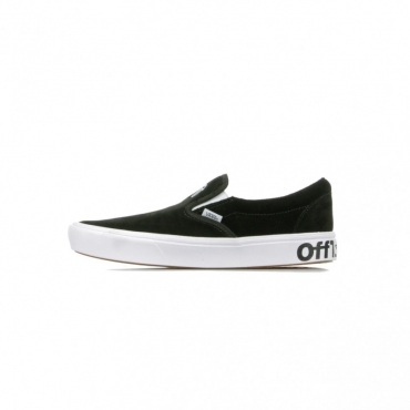 SCARPA BASSA COMFY CUSH SLIP-ON DISTORT BLACK/TRUE WHITE