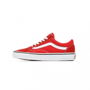 SCARPA BASSA OLD SKOOL RACING RED/TRUE WHITE