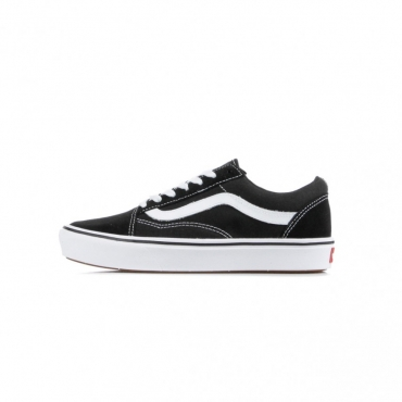 SCARPA BASSA COMFY CUSH OLD SKOOL CLASSIC BLACK/TRUE WHITE