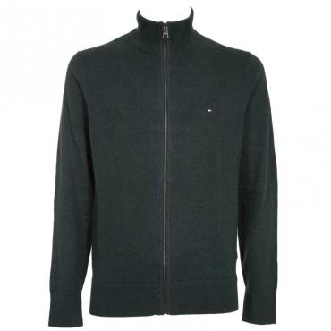 Pullover in cashmere e cotone con zip MQ5PINEGROVE