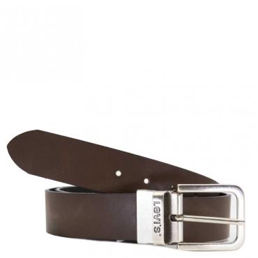 Cintura in misto pelle reversibile 28