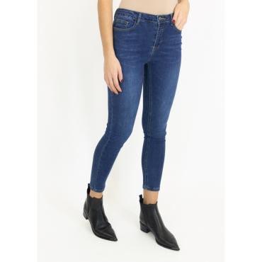 Jeans skinny lavaggio medio DENIM